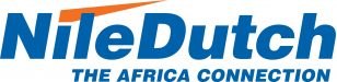 ND LOGO THE AFRICA CONNECTION CMYK blue fonts no background